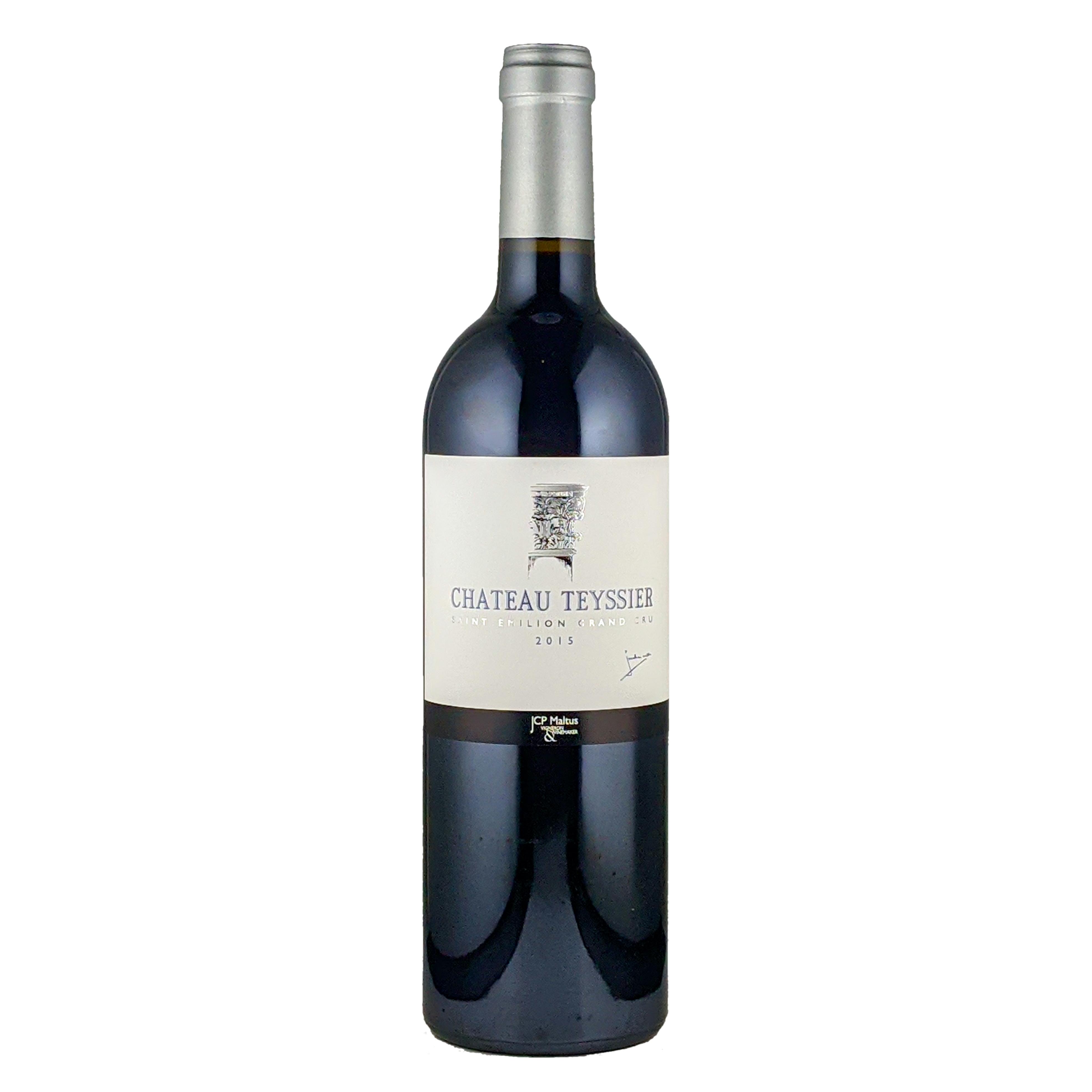 シャトー・テシエ・サンテミリオン・グランクリュ 2015 赤ワイン 750ml