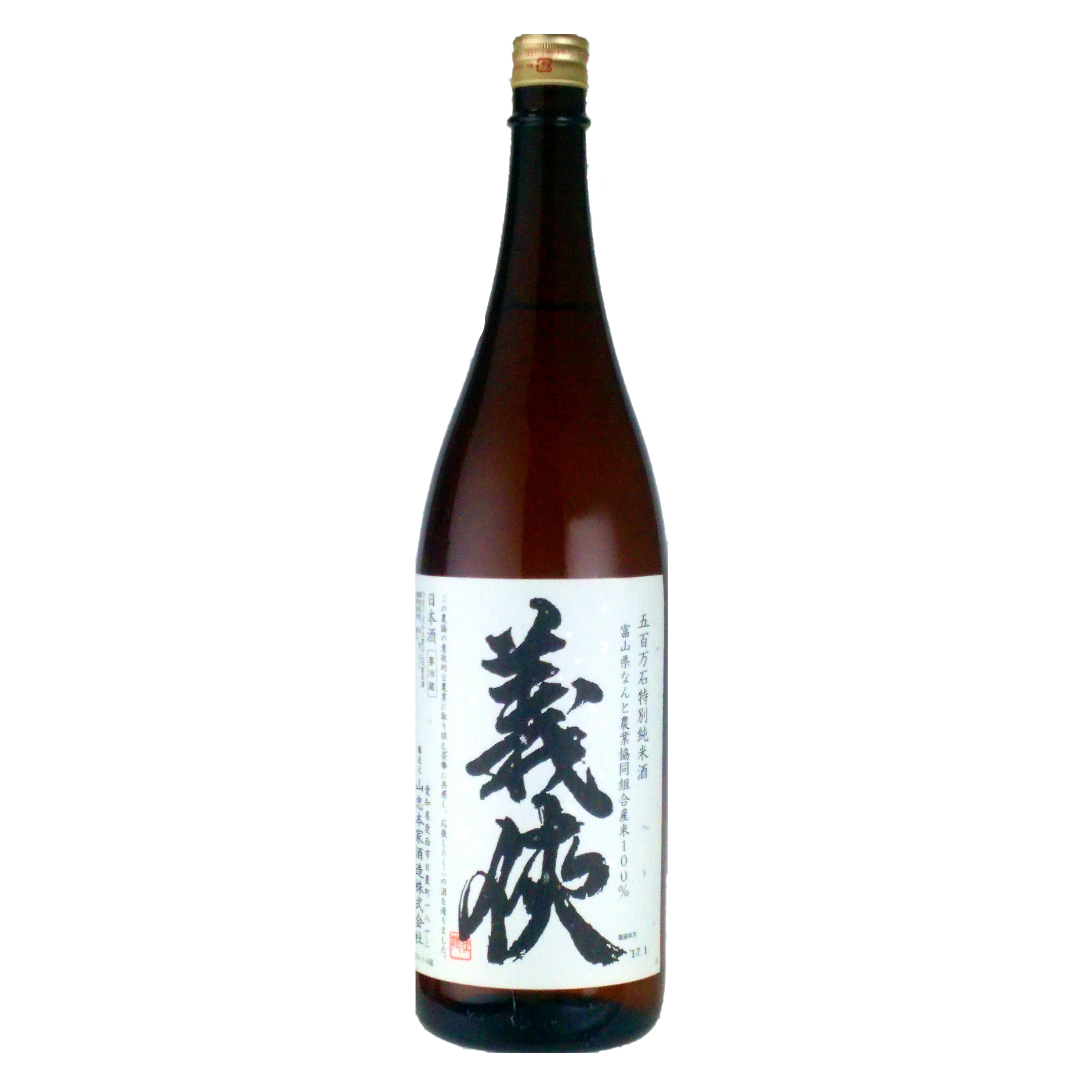 義侠 五百万石 特別純米酒 1800ml