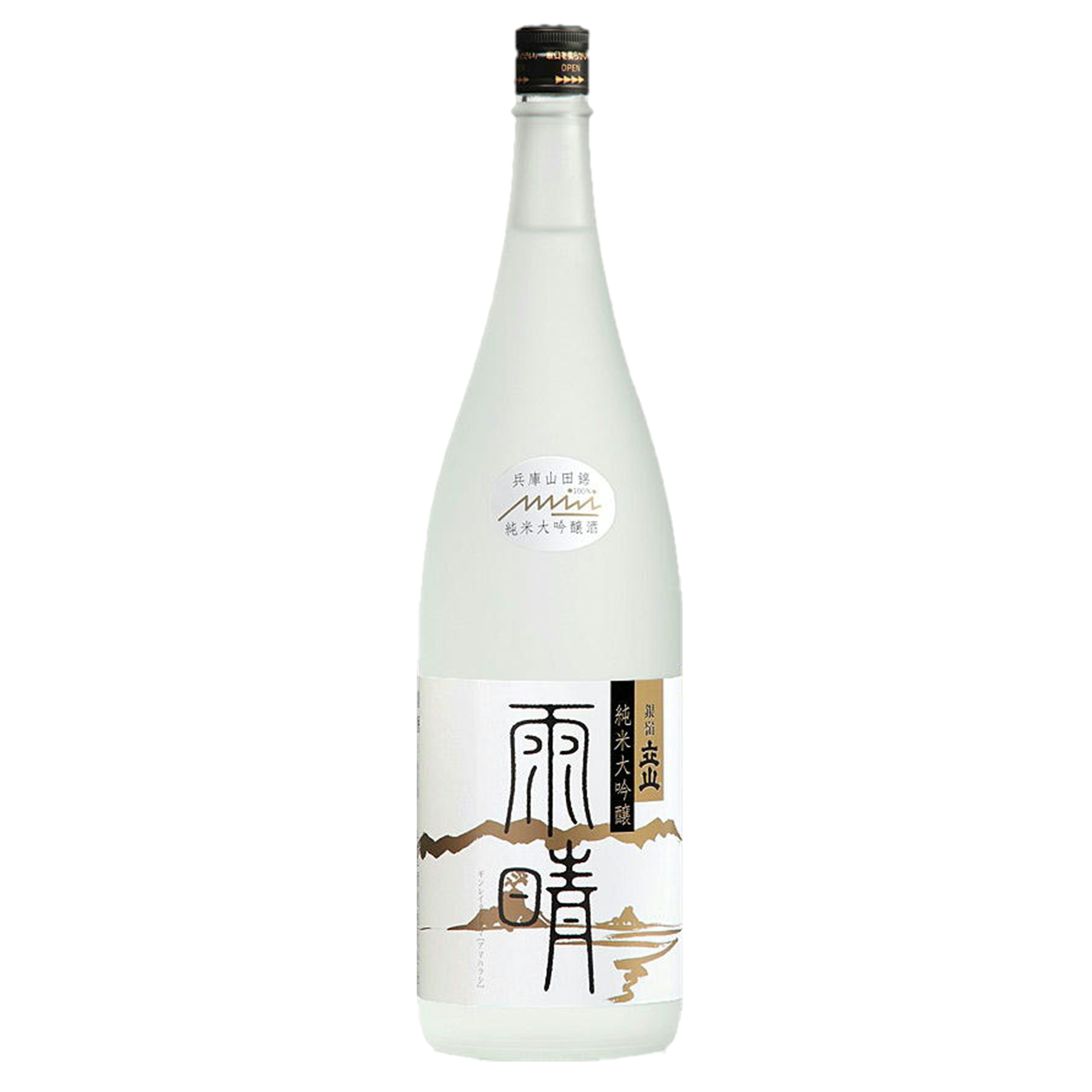 銀嶺立山 純米大吟醸 雨晴 【専用化粧箱入】