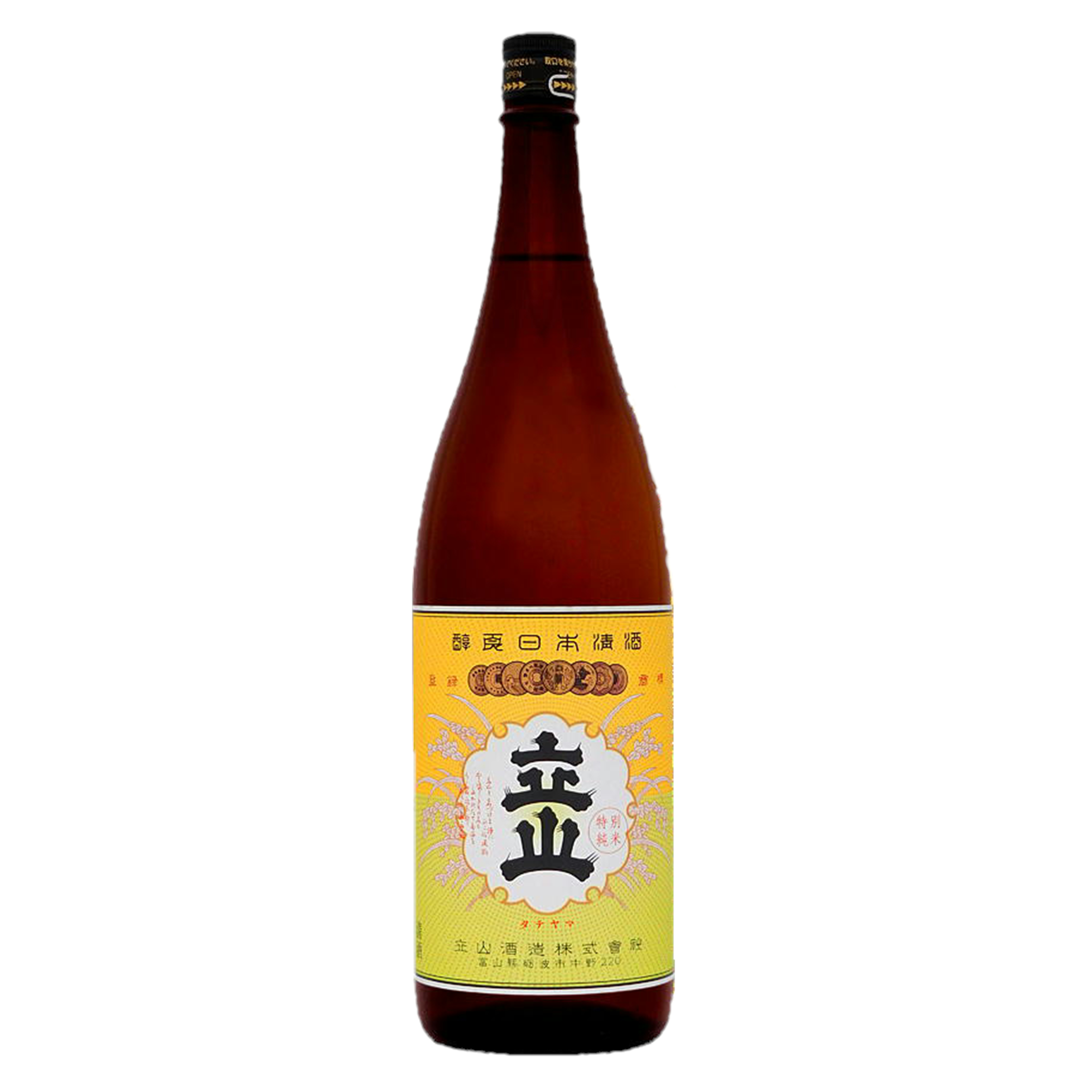 銀嶺立山  純米酒