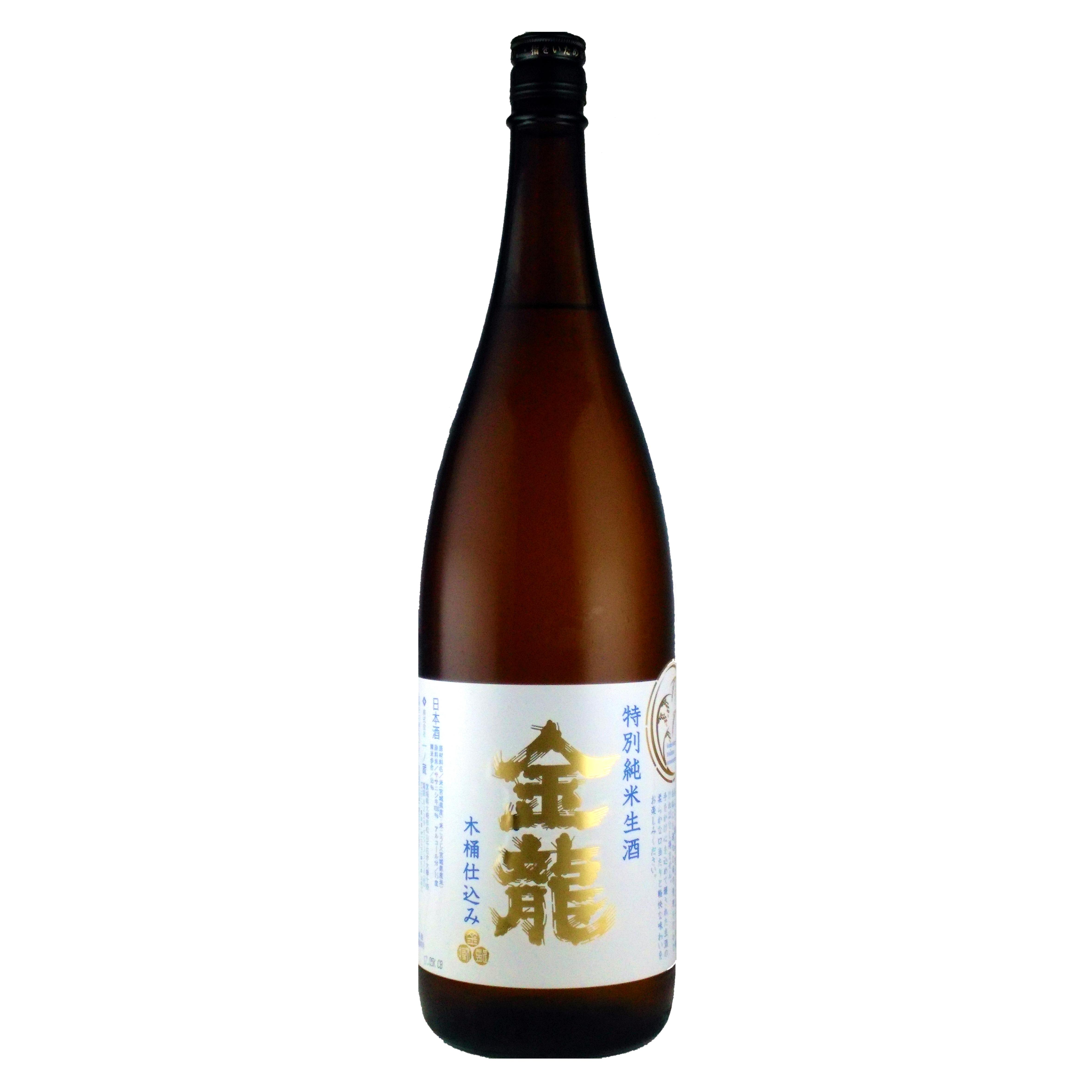 一ノ蔵 金龍 木桶仕込み 特別純米酒 生酒