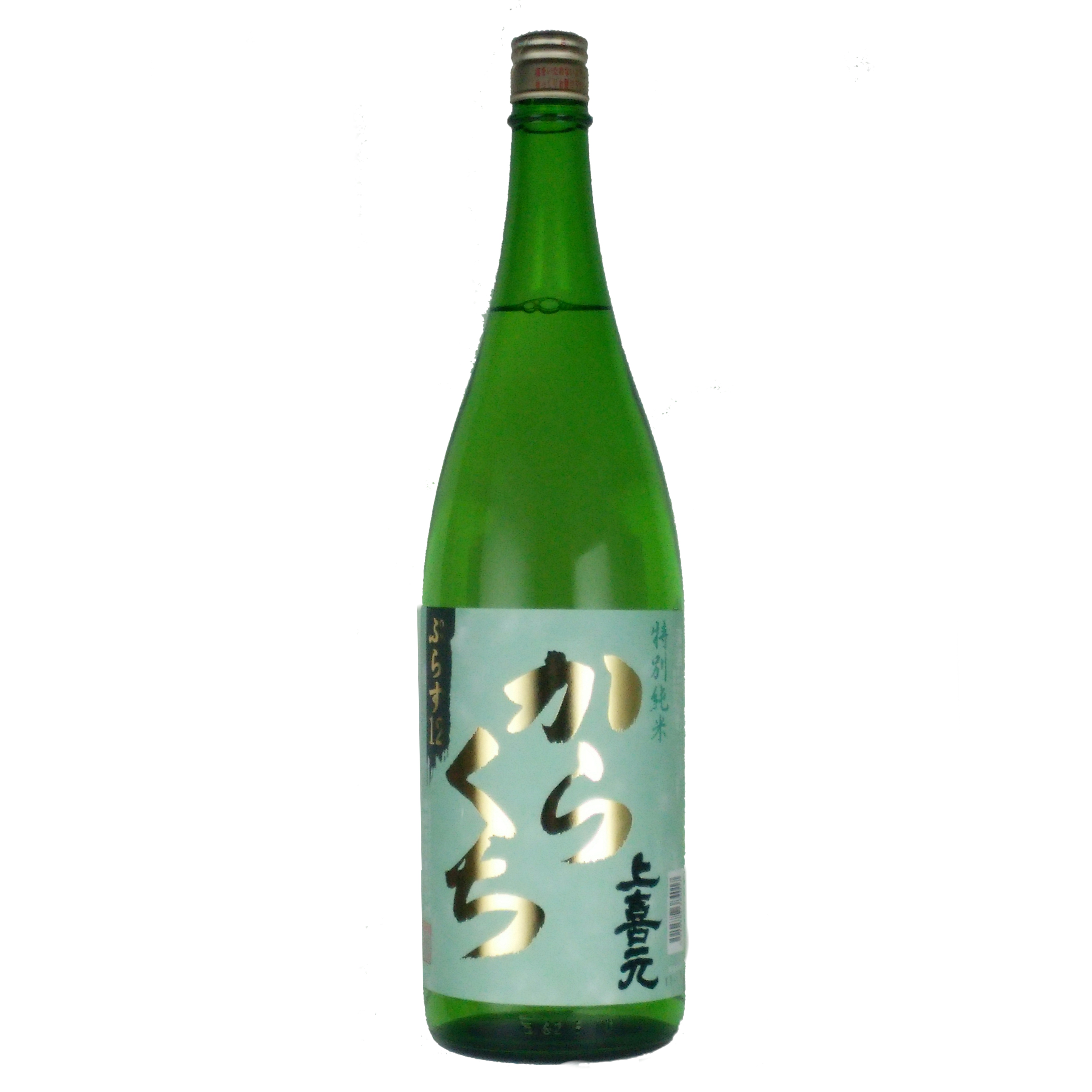 上喜元 特別純米 からくち ぷらす12 1800ml