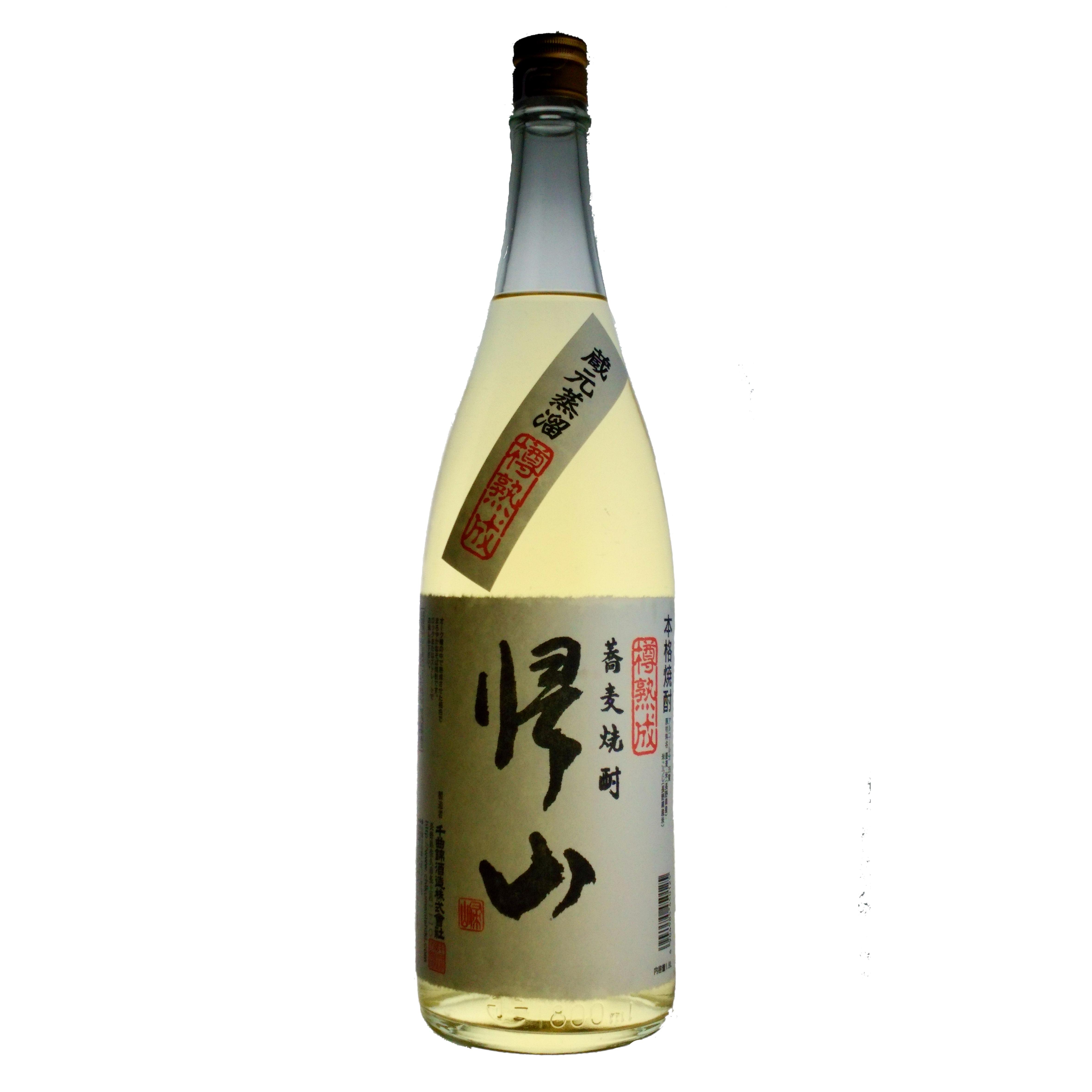 帰山 そば焼酎 樽熟成 35%