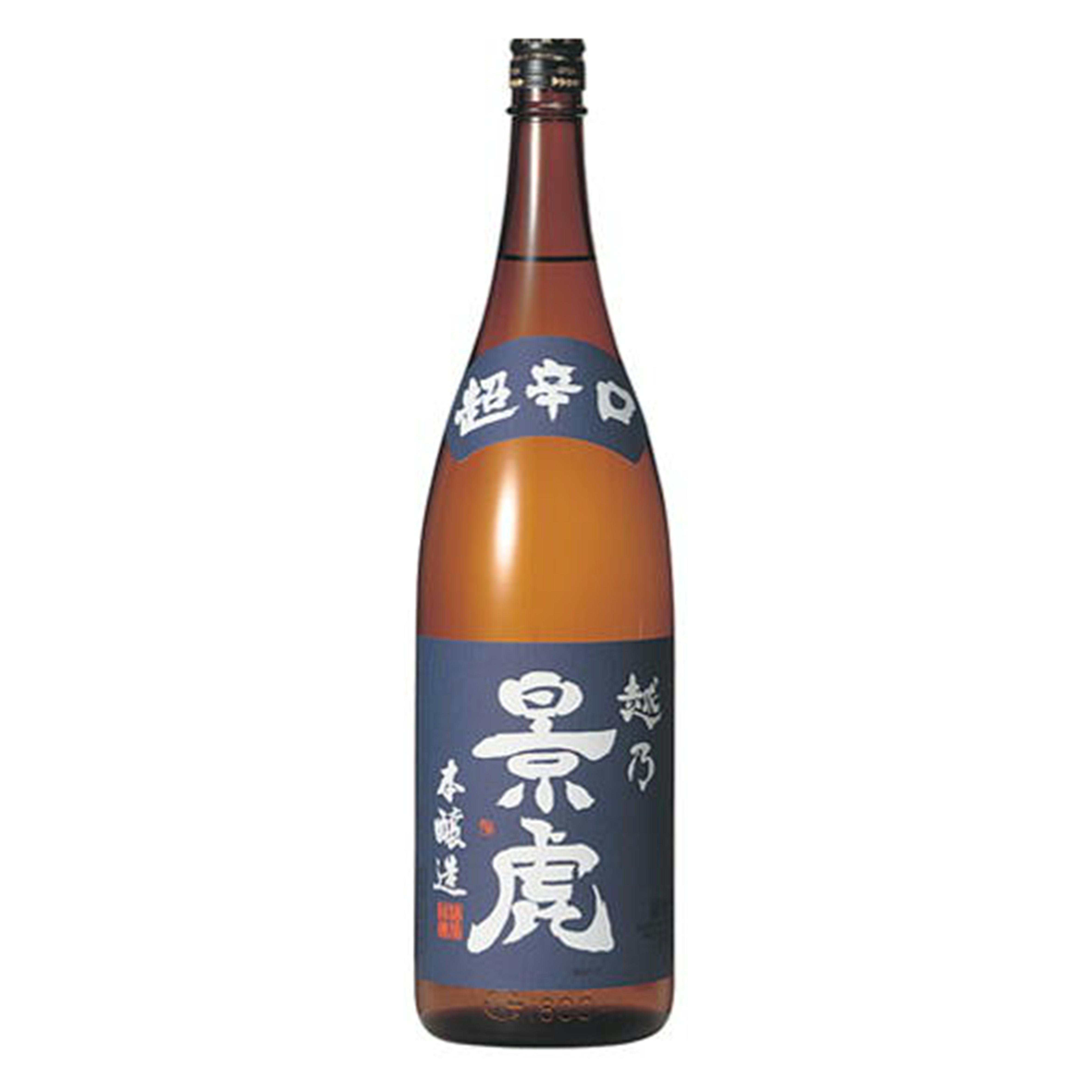 越乃景虎 超辛口本醸造 1800ml