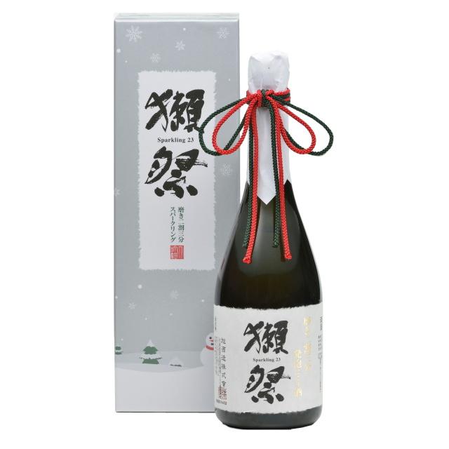 獺祭 磨き二割三部 純米大吟醸 発泡にごり Winter Version