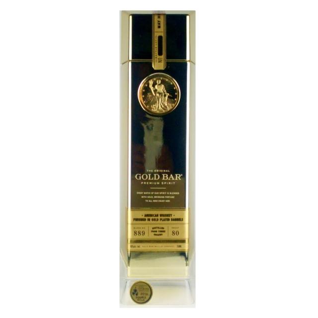 ゴールドバー ゴールドフィニッシュド ウイスキー 750ml