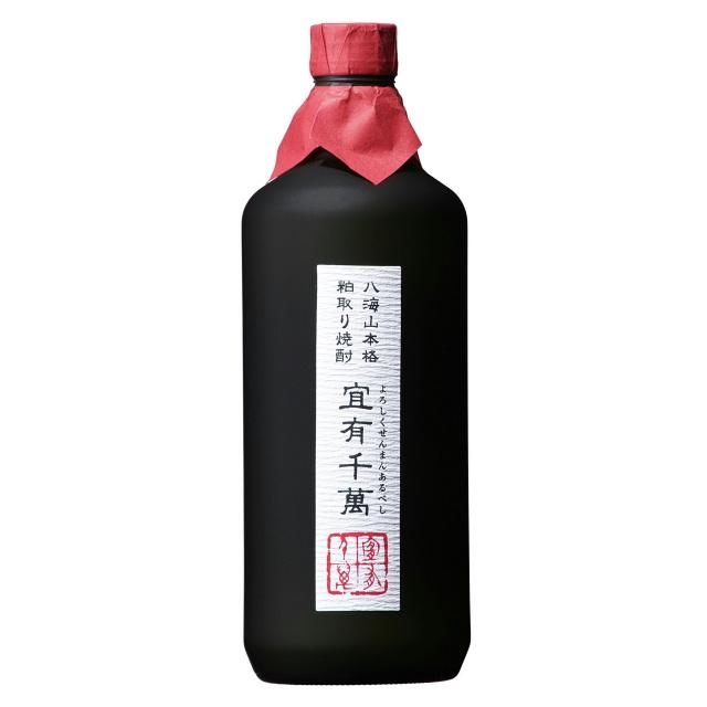 宜有千萬(よろしくせんまんあるべし) 八海山本格粕取り焼酎 720ml