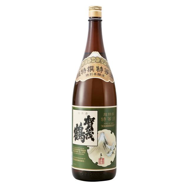賀茂鶴 超特撰特等酒 特別本醸造 1800ml