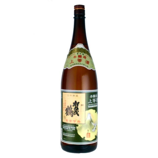 賀茂鶴 本醸造 上等酒 1800ml