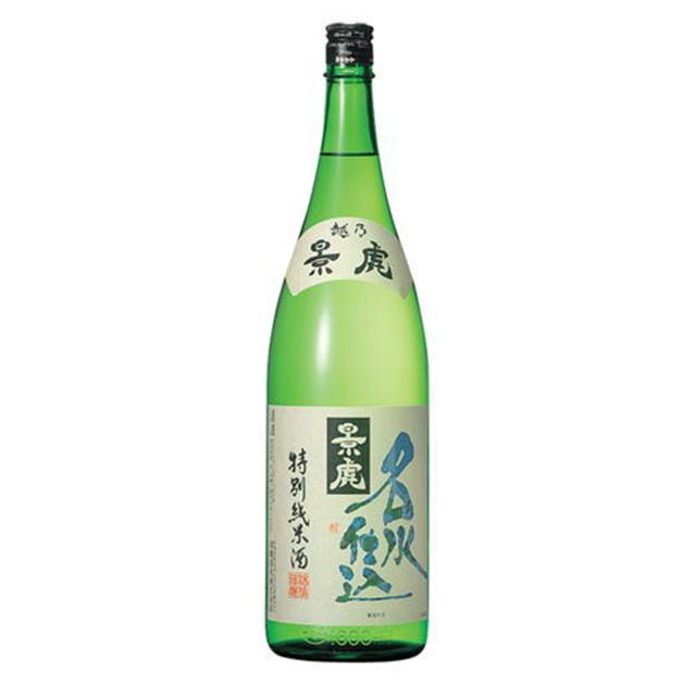 越乃景虎 名水仕込み 特別純米酒