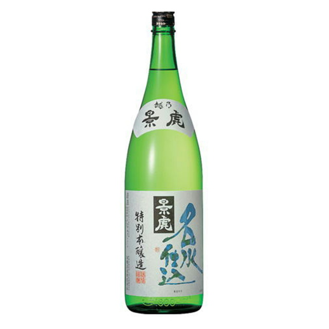 越乃景虎 名水仕込み 特別本醸造 1800ml