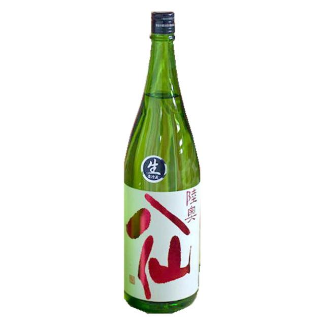 陸奥八仙 赤ラベル 特別純米 無濾過生原酒 1800ml