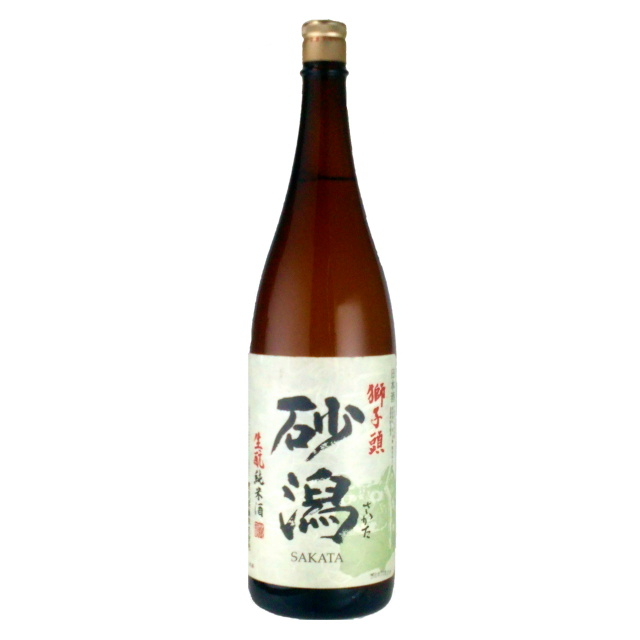 砂潟 きもと 純米酒 1800ml