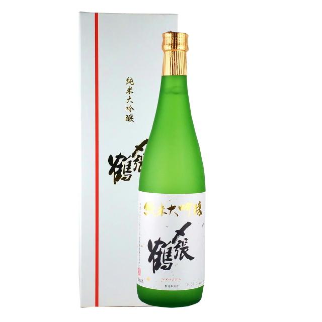 〆張鶴 純米大吟醸 白ラベル 720ml