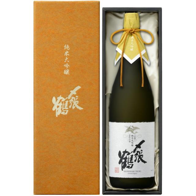〆張鶴(しめはりつる) 純米大吟醸 PLATINUM LABEL 袋取り雫酒【専用化粧箱付】 ※完全受注生産品です。お電話にてお問い合わせください。