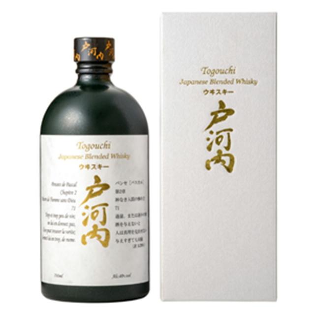戸河内ウイスキー 40% 700ml 【専用箱付】