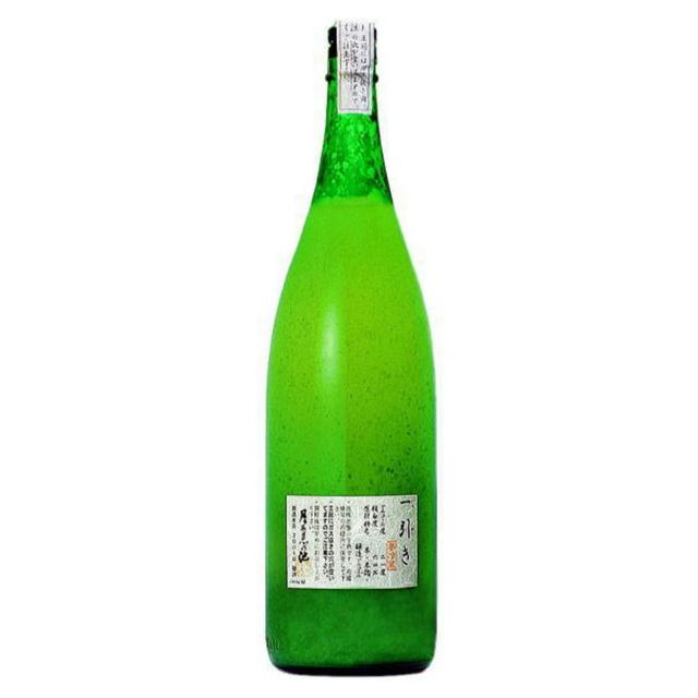 月不見の池 一引(いちびき) 濁り酒 無濾過生原酒
