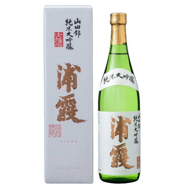 浦霞 純米大吟醸 山田錦 三年古酒 720ml