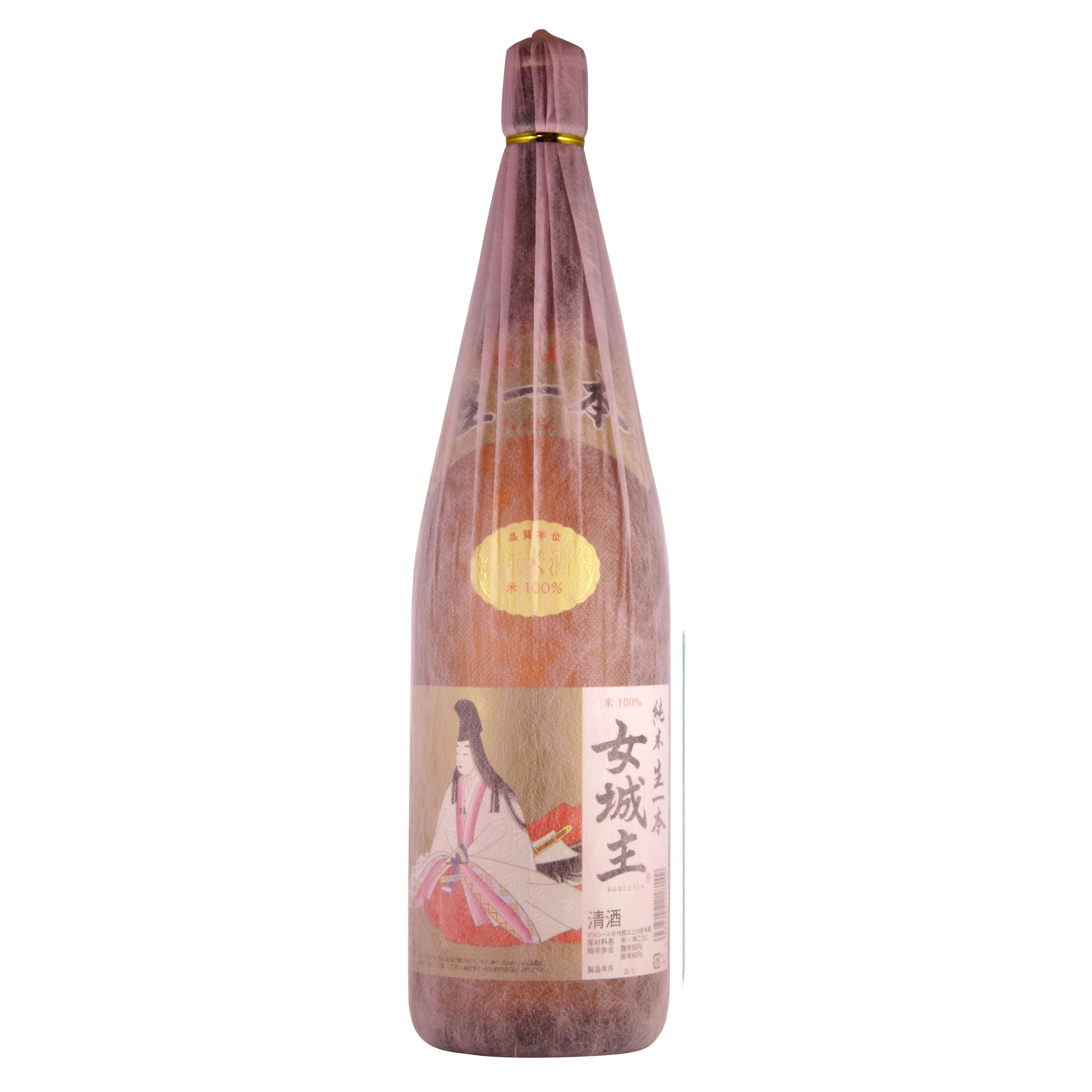 女城主 生一本 純米酒 1800ml