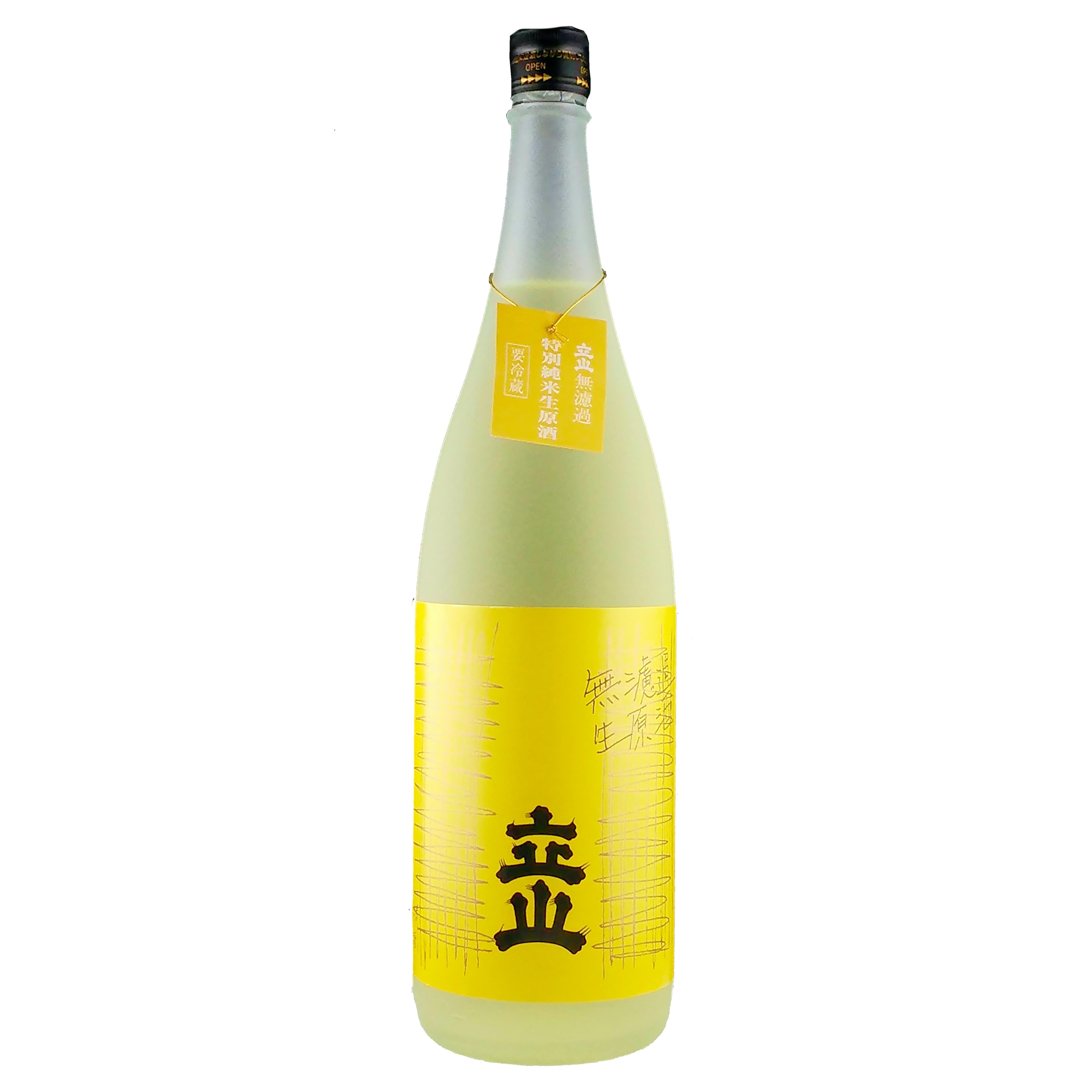 銀嶺立山 特別純米酒 無濾過生原酒