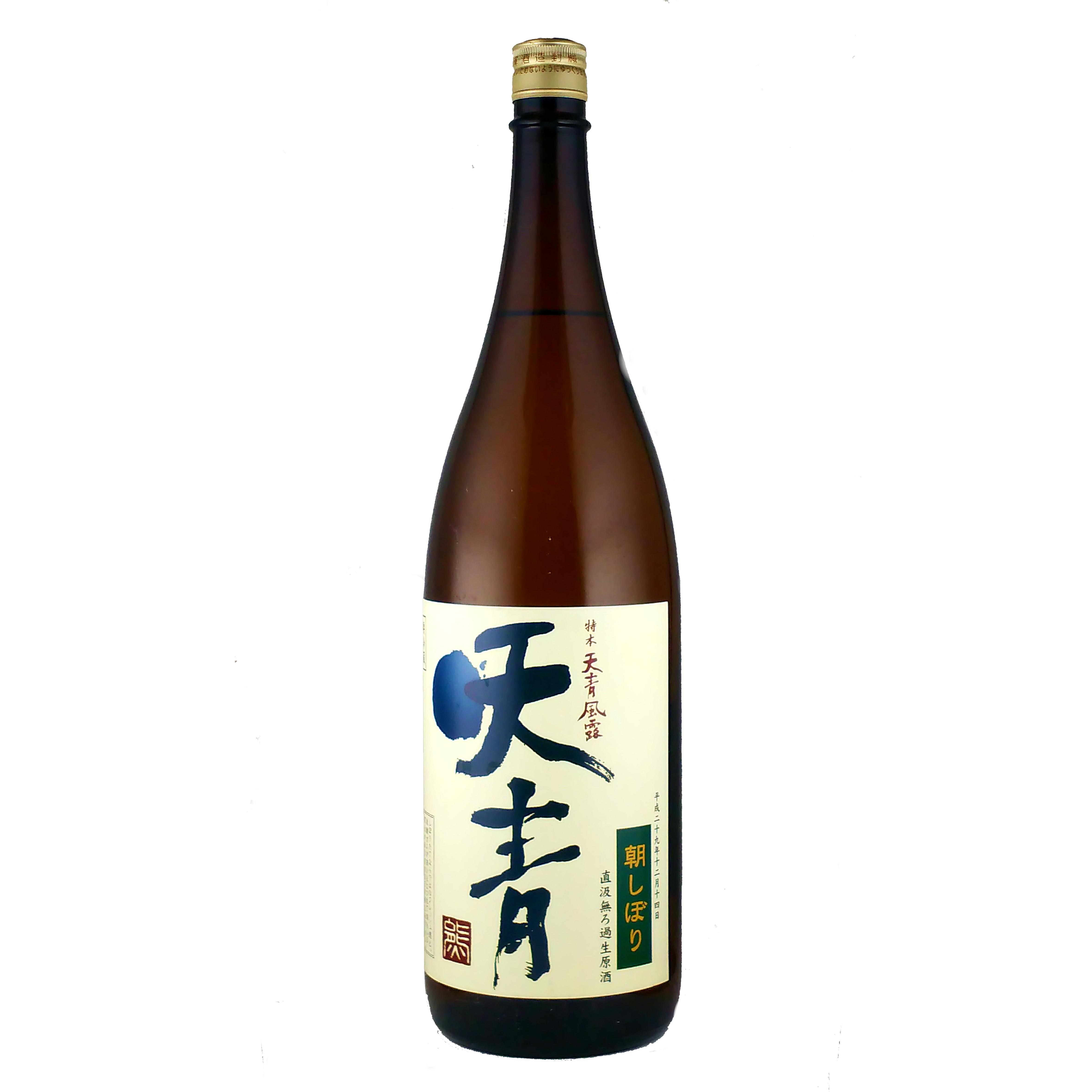 天青 風露 特別本醸造 「朝しぼり」 無濾過生原酒 1800ml
