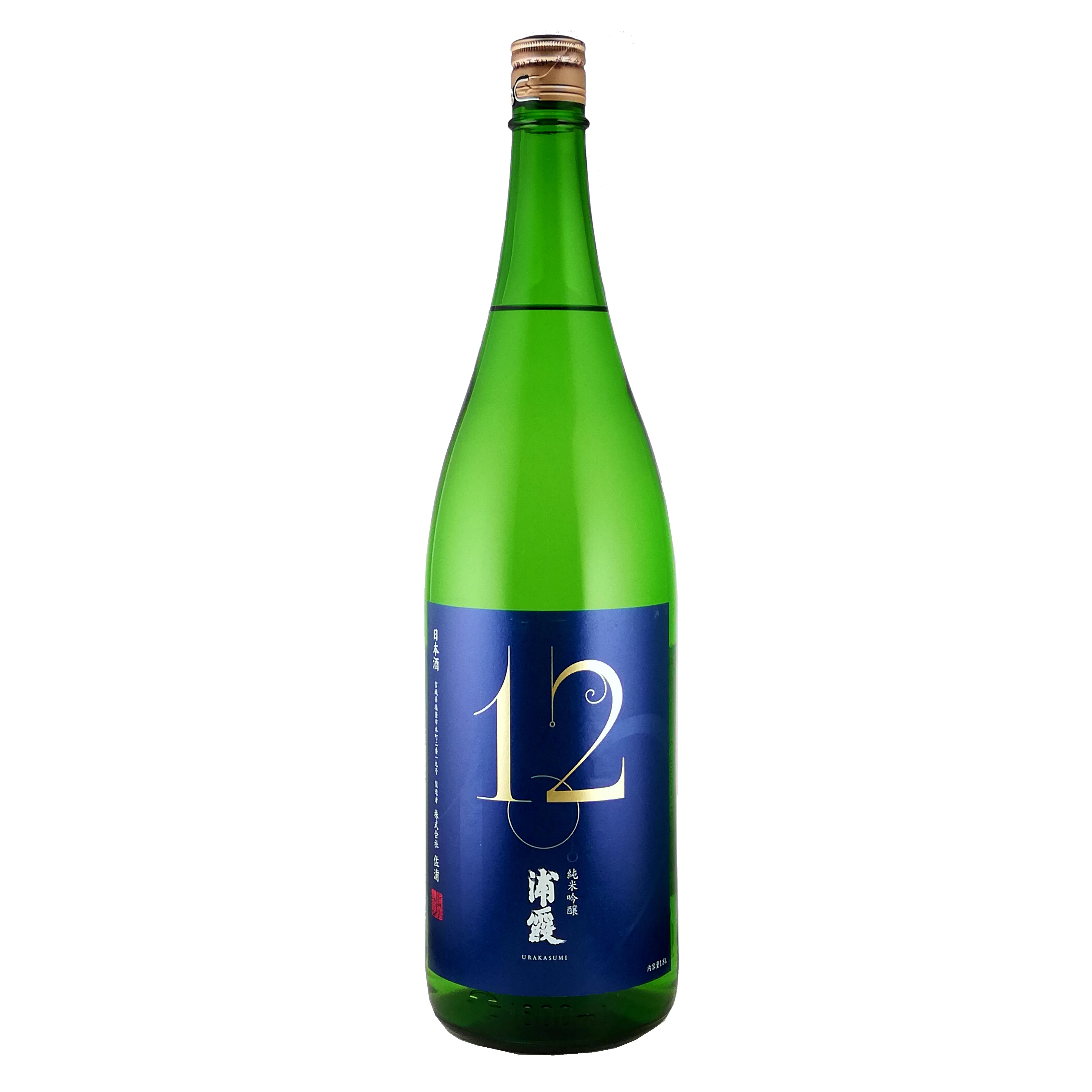 浦霞 NO.12 純米吟醸