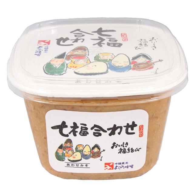 よしの味噌|七福合わせ味噌[750gカップ]