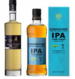 本坊酒造・限定ウイスキー・ジンセット