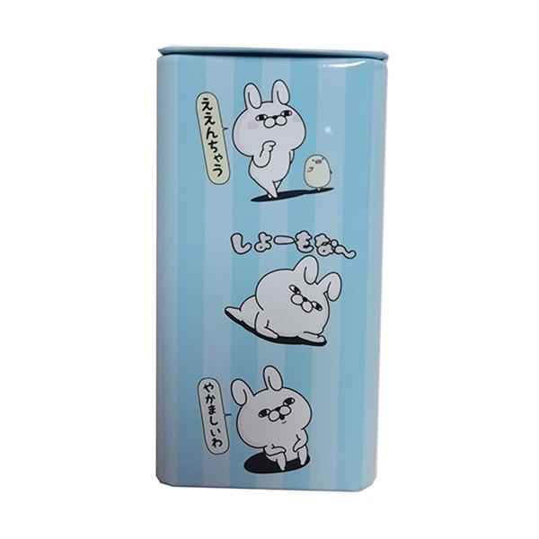 ラムネ入りミニロング缶 ブルー(ストロベリー味)YS-4