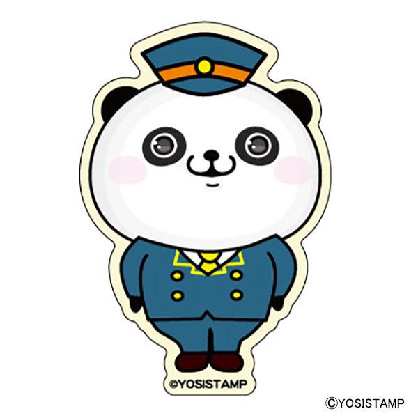 イベント限定ダイカットステッカー パンダさん ver.A 東京 4580609602097