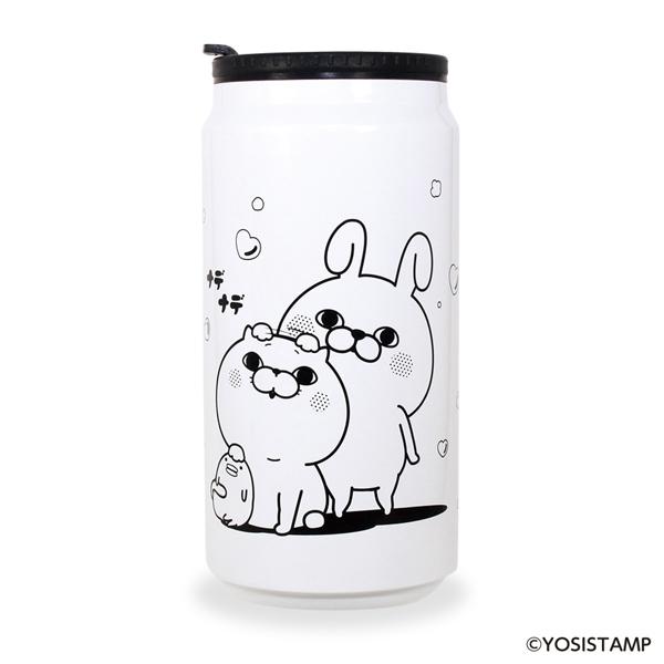 ★ヨッシースタンプ 缶型サーモタンブラー ナデナデ 4582406515129