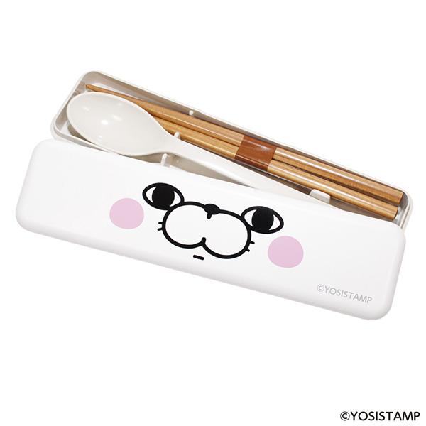 ★箸&スプーンセット ぬこ100%