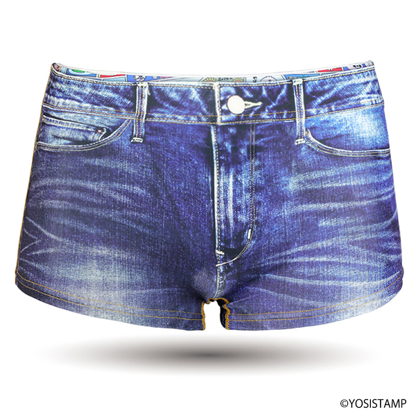 レディース Boxer Briefs-DENIM ice
