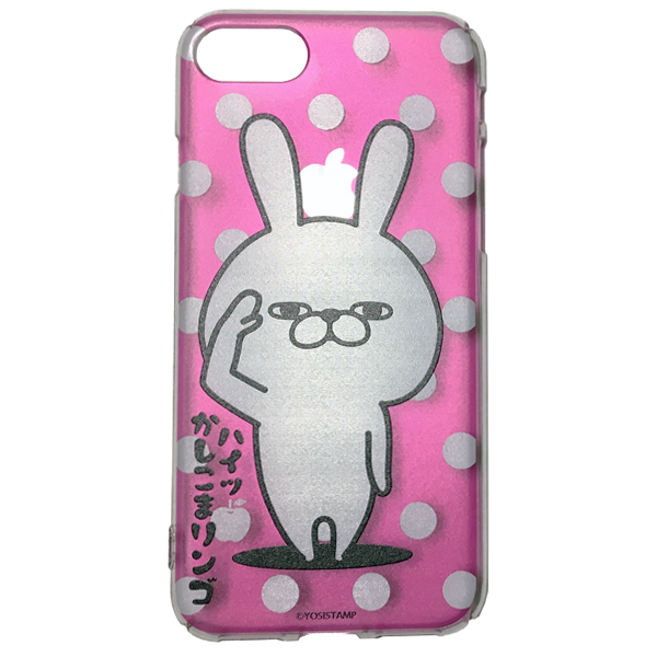 iPhoneケース うさぎ 水玉 4589874873911