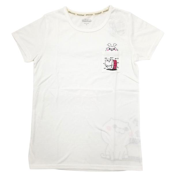 ヨッシースタンプ 半袖プリントTシャツポケット付き(ドンドコドーン) 8283-1712