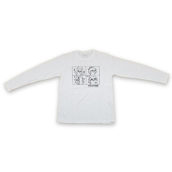 プリント長袖Tシャツ 8472-7480-1 4コマ