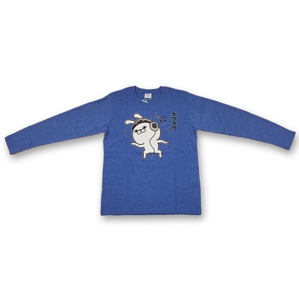プリント長袖Tシャツ 8472-7481-2 ズコズコ