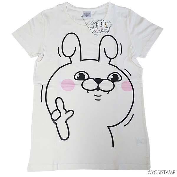 プリントTシャツ 9283-4712 BIGウサギ