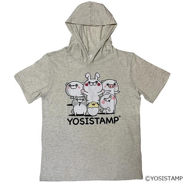 ヨッシースタンプ プリントTシャツパーカー9272-0488 YOSISTAMP
