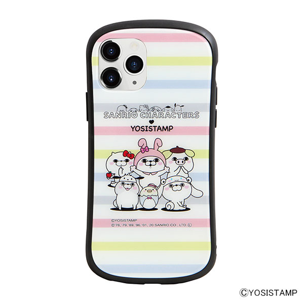 i select iPhone 11 Pro 対応ハイブリッドガラスケース B.集合