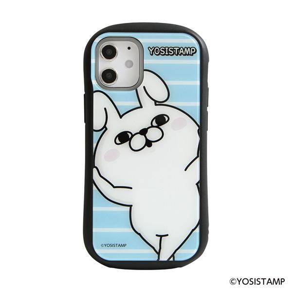 【予約商品】ヨッシースタンプ i select iPhone 12 mini 対応ケース うさぎ100%