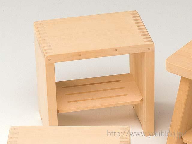 ヒバ箱型風呂椅子(大)