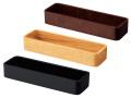 SC木製カトラリーサーバー ブラウン/ナチュラル/ブラック