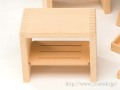 ヒバ箱型風呂椅子(小)