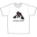 【公式ショップ限定】ヤンガー(Younger)コーチャーフロッキープリントTシャツ(ホワイト)【メール便可】【8月上旬入荷予定】