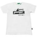 【公式ショップ限定】ヤンガー(Younger)コーチャーシルクプリントTシャツ(ホワイト)【メール便可】
