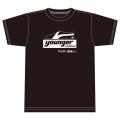 【公式ショップ限定】ヤンガー(Younger)コーチャーシルクプリントTシャツ(ブラック)【メール便可】【8月上旬入荷予定】