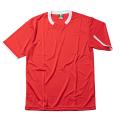 半袖ゲームシャツ(レッド×ホワイト)