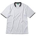 【メール便可】半袖ゲームシャツ(ホワイト×ブラック)