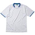 半袖ゲームシャツ(ホワイト×Dブルー)